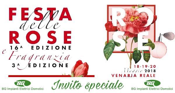 Festa delle Rose, Venaria